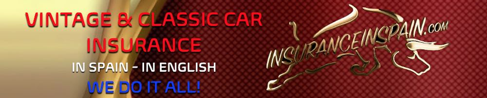 Classic and vintage car and motorcycle insurance in Spain in English