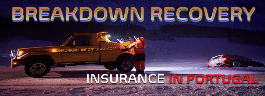 Vehicle breakdown recovery and assistance insurance in Portugal and Europe