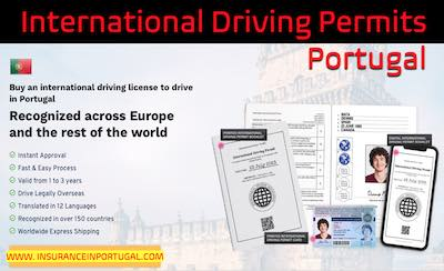 Get an International Driving Licence for Portugal in 2 hours
