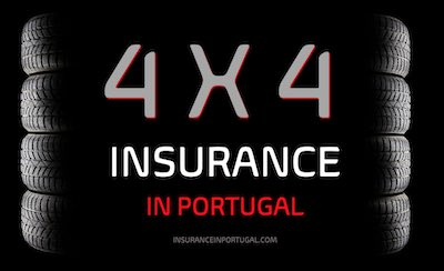 Four wheel drive, 4x4 and off road insurance in Portugal