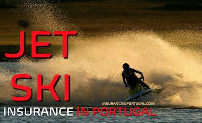 Jet Ski, rider and towing insurance in Portugal in English