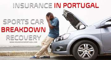 Breakdown and Recovery Insurance for Sport cars in Portugal in English