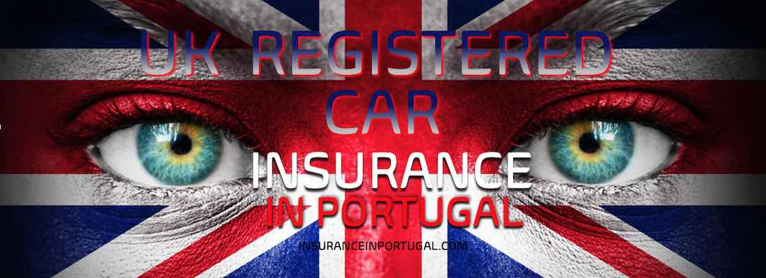 British and Uk registered car insurance in Portugal in English for Expats