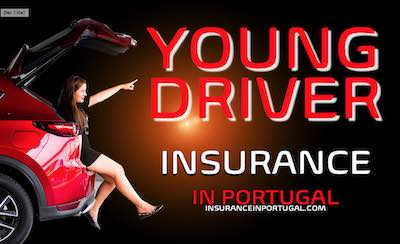 Insurance for young drivers in Portugal in English with competetive quotes